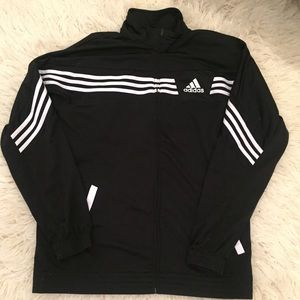 Adidas Zip Up Soccer Athletic Jacket